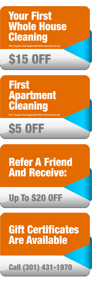 Move In Move Out Cleaning DC MD VA